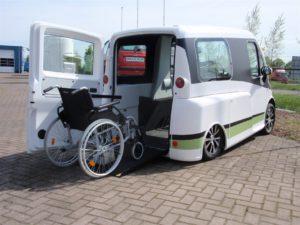 Kimsi elektrisch rolstoelvoertuig